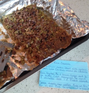 Uneaten Pumpkin Seed Roca Glop and the long forgotten recipe I should have used