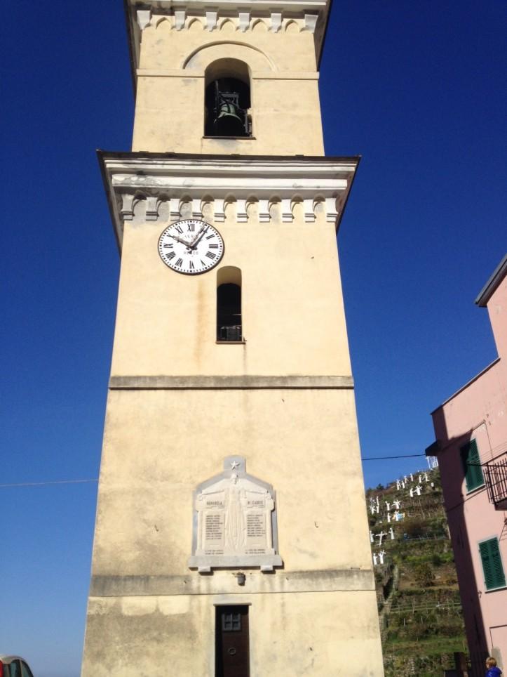 Manarola Bell Tower
